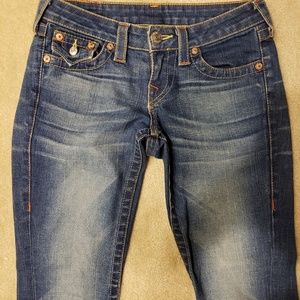 True Religion Flare Jeans Size 25